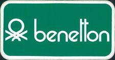 Adesivo Benetton 70 stiker stikers