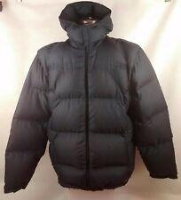 Adidas Homme gilet veste matelassée duvet à capuche bleu taille XL Extra Large