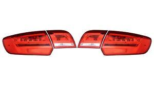 Left & Right Inner Outer Genuine Tail Brake Lights Lamps Kit For Audi A3 Quattro