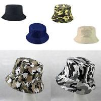 Fashion Men's Women's Outdoor Activities Visor Bucket Hat Fisherman Cap  Boil
