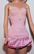 Barbie Doll Pink Short Sleeveless Dress