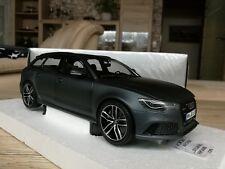 Audi a6 rs6 4 G c7 avant daytonagrey 1:18 Minichamps Dealer neuf dans sa boîte
