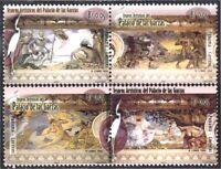 Panama 1208/11 2001 Art Treasures Palace Of Herons MNH