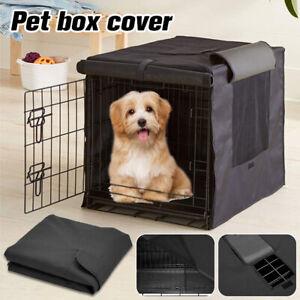 Pet Dog Cage Cover Black Sunscreen Pet Outdoor Sun Wind Shield Dustproof