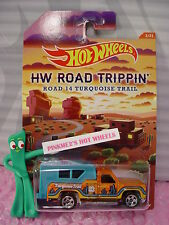 2015 Road Trippin #3 BACKWOODS BOMB∞Orange∞Road 14 Turquoise Trail∞Hot Wheels