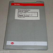Manuale D'Officina Audi A4 / a 4 Mpi Sistema di Iniezione + Accensione Ab 1995
