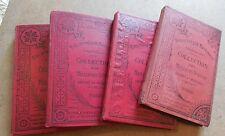 BIBLIOTHEQUE NATIONALE collection des meilleurs auteurs THEATRE DE MOLIERE 1907