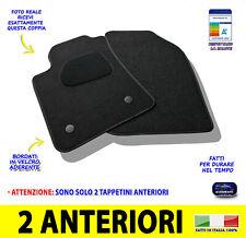 Per Fiat Bravo 2007> tappetini tappeti auto in moquette su misura nero set da 2