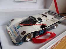 BRM Slotcar BRM009AW 1/24 Porsche 962C IMSA 85 AW - Löwenbräu Nr. 14
