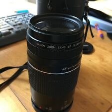 Canon EF 75-300mm f/4-5.6 III EF/USM Telephoto Zoom Lens Excellent Condition