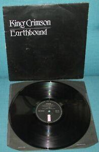 KING CRIMSON Earthbound ORIGINAL 1st UK ISLAND1972 + Black Inner