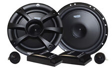 "New Re Audio Sr6.5C 110W Rms Component Car Speaker System W/1.1"" Silk Tweeters"