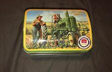 "John Deere Open Road Classic Collectible Tin 6"""