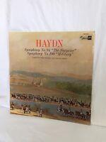 """HAYDN Symphony No. 94 """"The Surprise"""" Symphony No.100 """"Military"""" Vinyl LP (LP02)"""