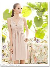Joanne Kitten Occasion Deep V Lace Cut Out Back Evening Party Dress JK-1118