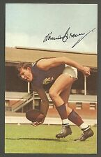 1965 Mobil card No 5 Norm Brown Fitzroy Near Mint