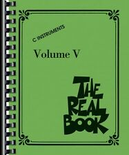 The Real Book Volume V Sheet Music C Edition Real Book Fake Book NEW 000240349