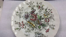 Johnson Bros Sheraton 10 Inch round Collectible Plate Made In England
