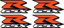 4 Small GSXR Decals Stickers 600 750 1000 emblems bike GSX R 1100 Srad graphics