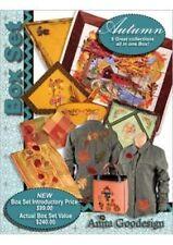 Anita Goodesign Autumn Box Set Collection Embroidery Machine Design CD
