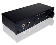 Professional Preamp With Phono Microphone Aux Stereo Inputs + Volume Control