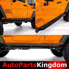 4 Door Rock Crawler Side Slider Step Armor Guards For 07-18 Jeep JK Wrangler