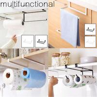 Kitchen Roll Holder Under Shelf Cabinet Paper Towel Dispenser Wall Mounted UK