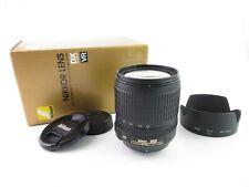 Nikon AF-S DX Nikkor 18-105mm 1:3.5-5.6 G ED Zoom Objektiv lens mit hood in OVP