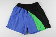 5d0eaba447 Vintage 90s TYR Mens XL Color Block Outdoor Summer Swimming Swim Trunks  Shorts