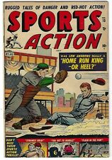 Sports Action #13- Sol Brodsky cover -  Bernie Krigstein, Al Bellman art - TGL