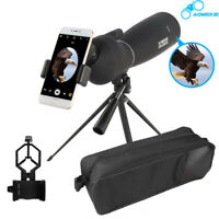 25-75X70 Spotting Scope With Tripod & Phone Adapter BAK7 Astronomical Telescope