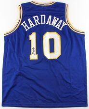 Tim Hardaway Sr Signed Golden State Warriors Jersey (JSA COA) 5× NBA All-Star