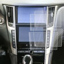 "2 Fits Infiniti Q50 Q60 17-18 Anti Scratch Print Screen Saver Protector 8"" 7"""