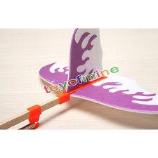 Paper Airplane Rubber Band Jet Glider main bricolage Sciences Jouets modèle