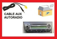 Cable auxiliaire poste origine autoradio Fiat Grande Punto Evo vendeur pro