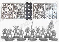 10 Plaguebearers Nurgle Chaos Daemons Demons Herald 40K AoS Warhammer Sigmar NoS