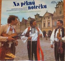 Brno Radio Folk Instrument Ensemble Jindrich NA peknu notecku, VG +/EX Lp (6709)
