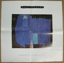 Andy Summers Mysterious Barricades 1988 Us Promo Poster The Police Minty!