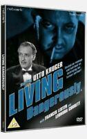 New Sealed Living Dangerously Fiction Dvd Starring Otto Kruger