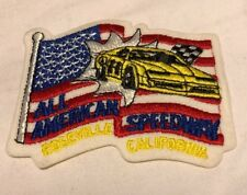 Vintage All American Speedway Roseville California Patch Racing Nascar