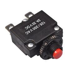 12V 24V Réarmable Fusible Automatique Thermique Disjoncteur 1-30A
