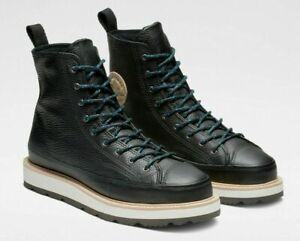 Converse Chuck Taylor Crafted Boot 162355C Men's Size 8 Black/Light Fawn/Black