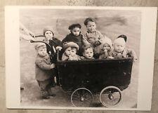 Vintage Postcard ~ Posted 1994 Sweden Afternoon Stroll Babies Stroller