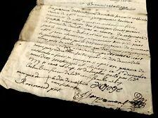 1744 ANTIQUE DOCUMENT