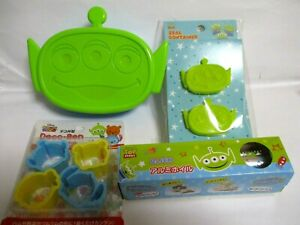 Disney Toy story Lunch Box Bento  Aluminum foil Sauce case mold Set Of 4