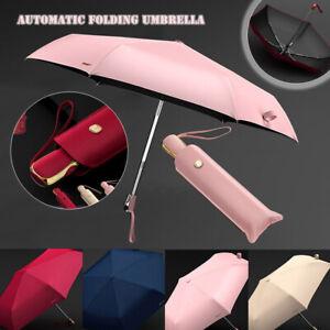 Sunscreen Windproof Ultralight Umbrella Automatic Anti-UV Travel Parasol Shields