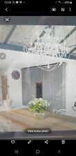 Timothy Oulton style Chrystal Chandelier