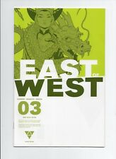 EAST OF WEST #3 2nd Print Image Comics 2013 Jonathan Hickman's Optioned Series
