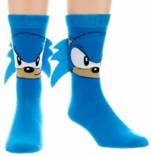 Sega Sonic The Hedgehog Crew Socks With Quills