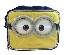 Despicable Me Minion Insulated Back to School Lunch Bag Adjustable Strap